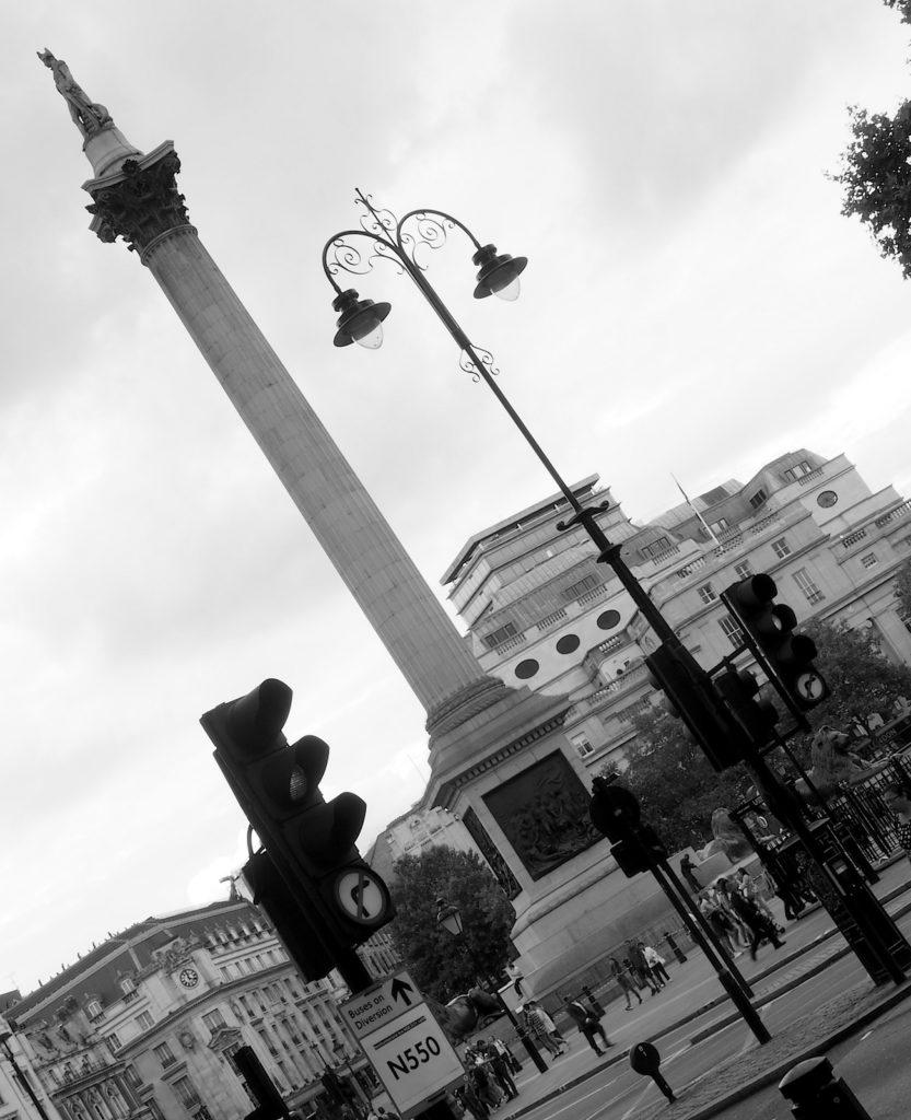 Nelson's Column on Trafalgar Square