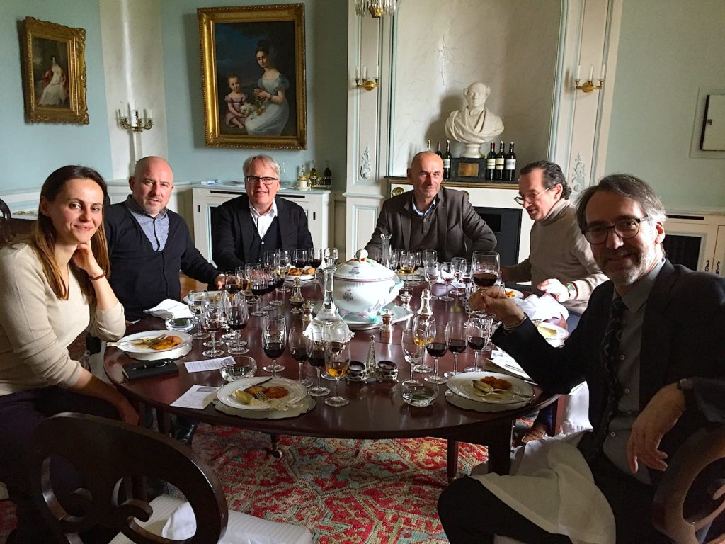 Monday, January 15th lunch at Château Lafite Rothschild