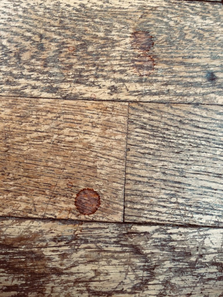 Grand Cru floorboards in Burgundy